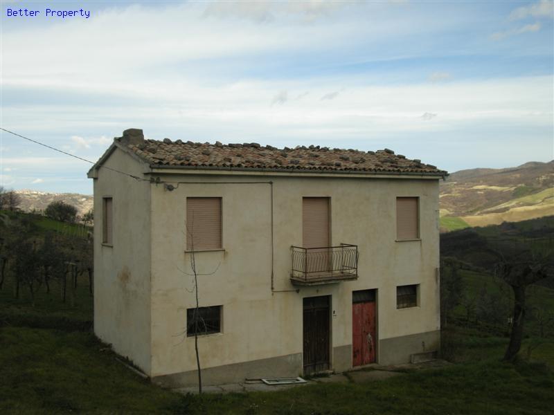 Immobili in vendita in abruzzo casa di campagna con - Vendita terra da giardino ...